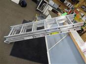 WERNER D1216-3 16 FT. ALUMINUM 3 SECTION COMPACT EXTENSION LADDER TYPE II DUTY